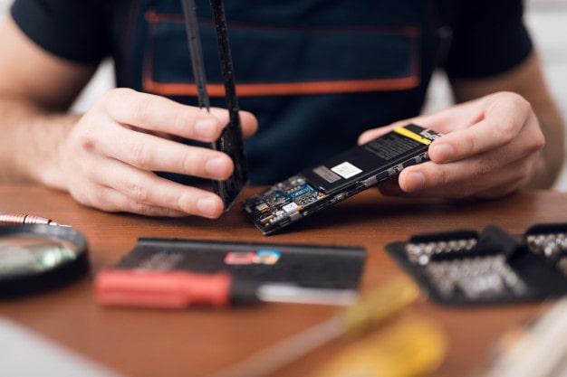 آموزش تعمیر دوربین موبایل