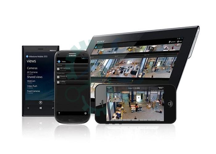 نرم افزار انتقال تصویر دوربین های مدار بسته روی موبایل