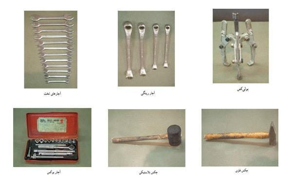 ابزارهای بازپیچی موتور