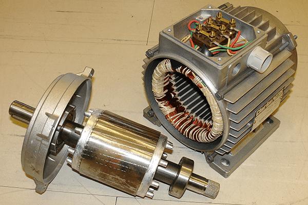 طریقه باز کردن موتور الکتریکی