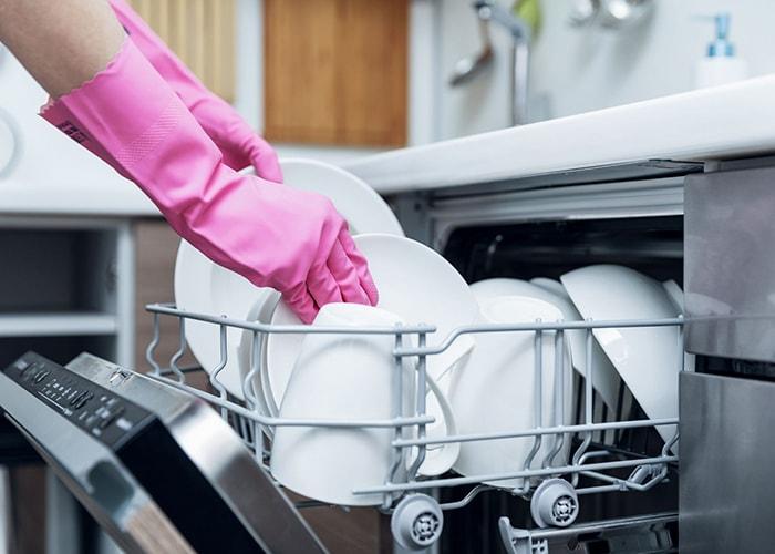 علت خشک نشدن ظروف در ظرفشویی