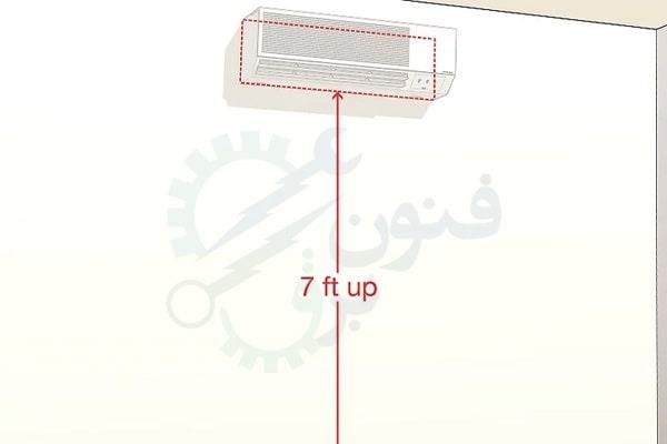 طریقه نصب یونیت داخلی کولر گازی