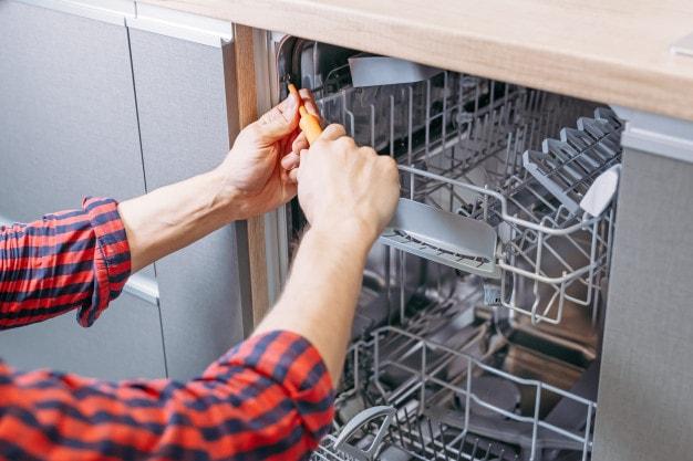 نگهداری ماشین ظرفشویی