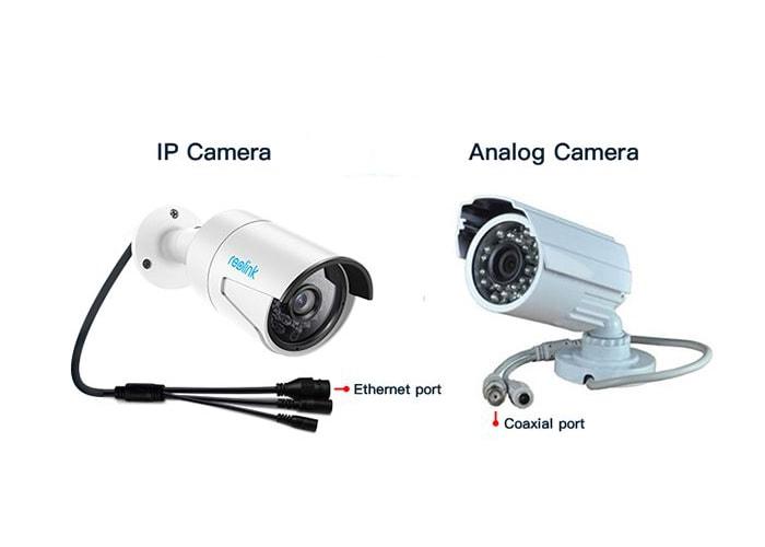 انواع دوربین آنالوگ و تحت شبکه