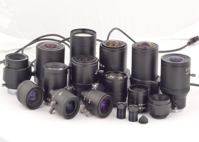 انواع دوربین مدار بسته بر اساس لنز