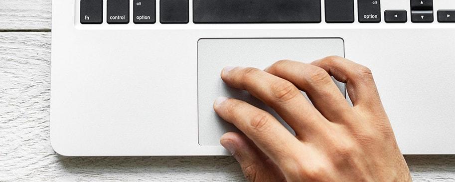 مشکلات تاچ پد لپ تاپ