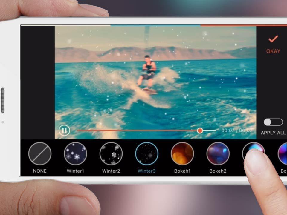 برنامه های ادیت فیلم در گوشی های آیفون