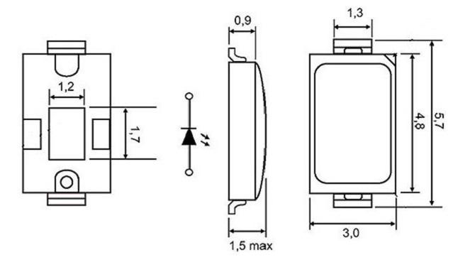 اجزا تشکیل دهنده لامپ ال ای دی